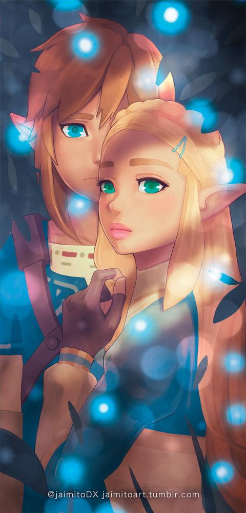 Zelda And Link Bookmark By Jaimito On Deviantart