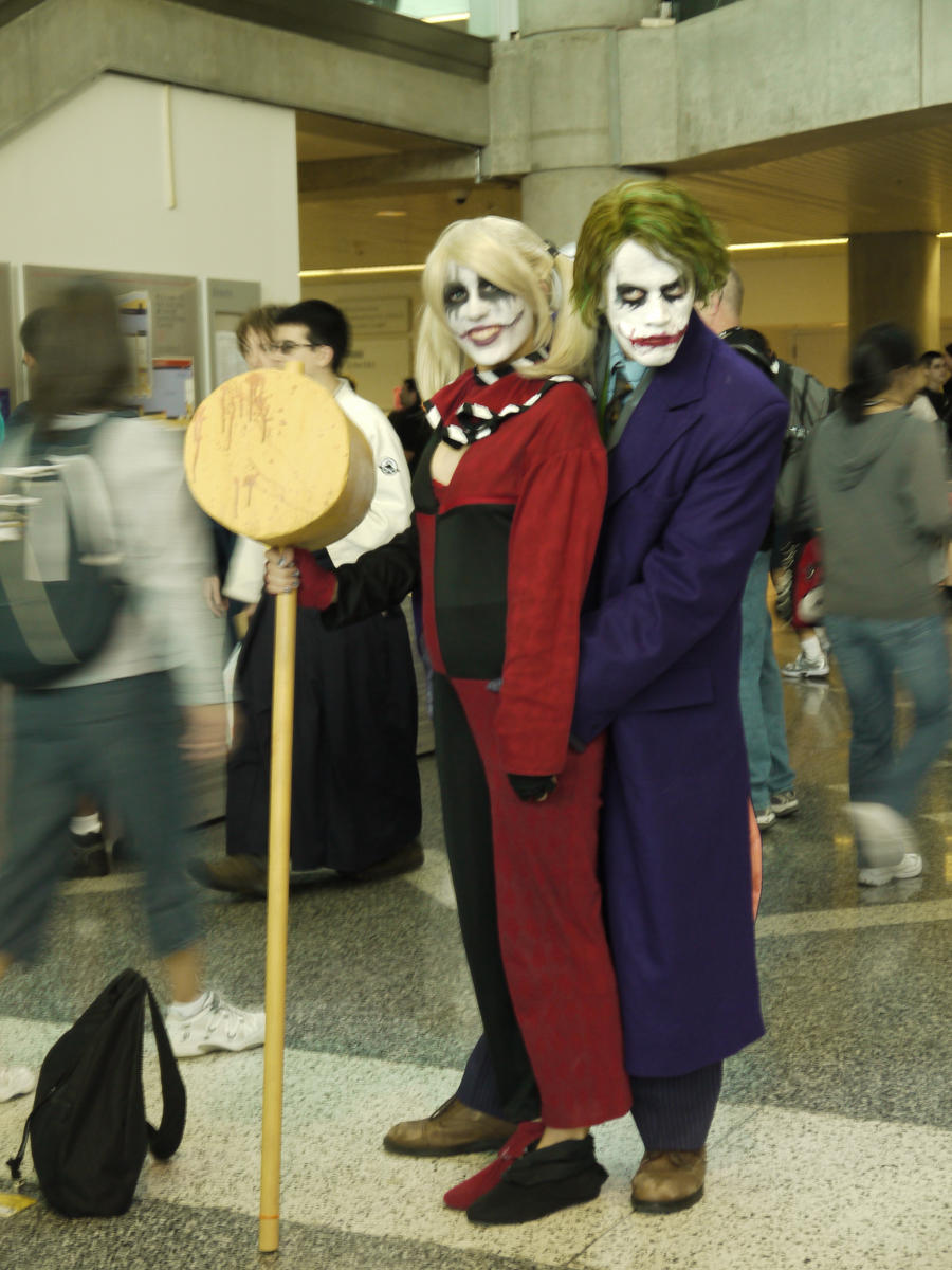 batman - harley and mr j by victoryofjoy