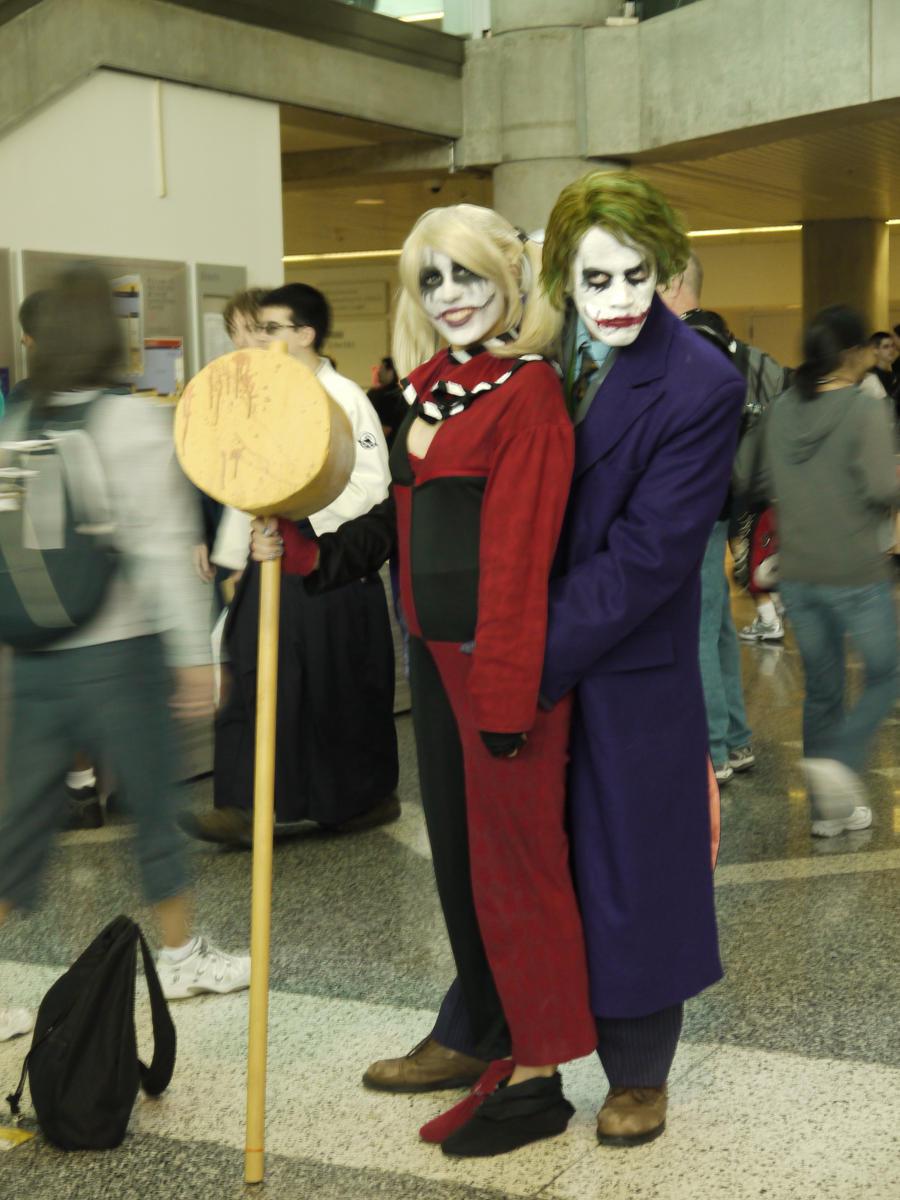 batman - harley and mr j by victoryofjoy