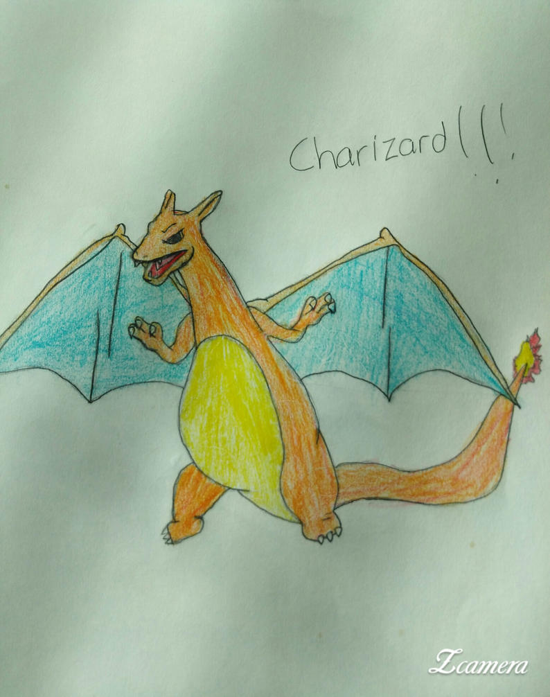 Charizard!!! by PastaLaPizza