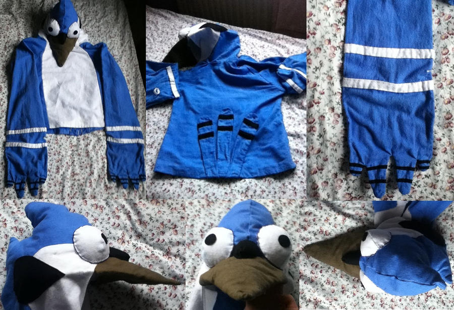 Mordecai Costume by celebrindal15