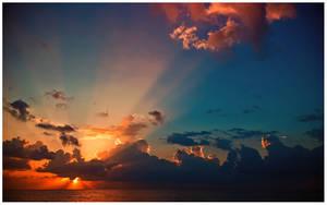 dawn on the Mediterranean 4 by tka4u4a