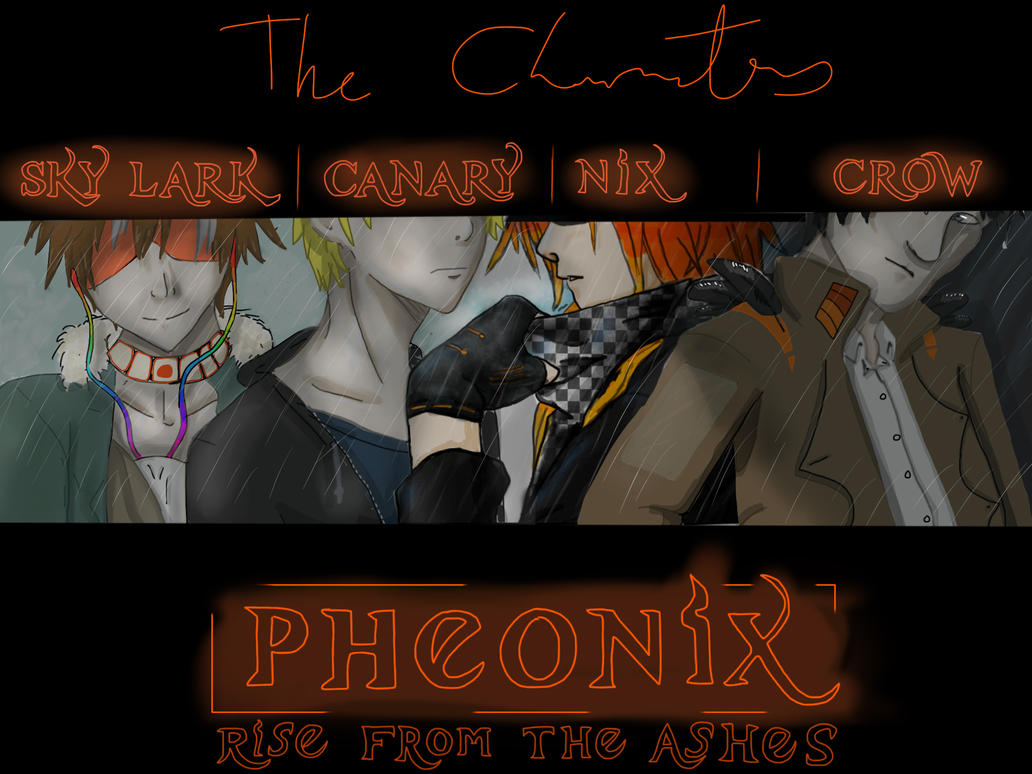The Characters Of Pheonix by Lady-Lottie