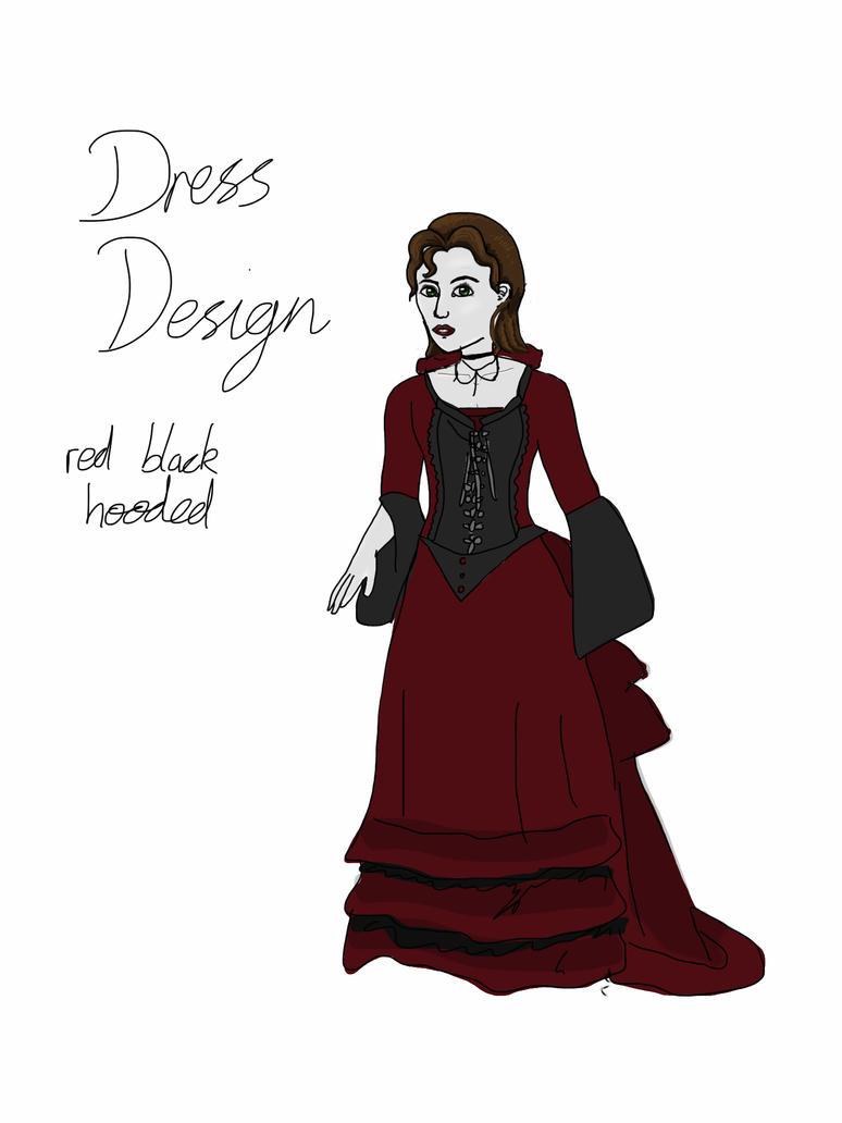 Simple dress design doodle by Lady-Lottie