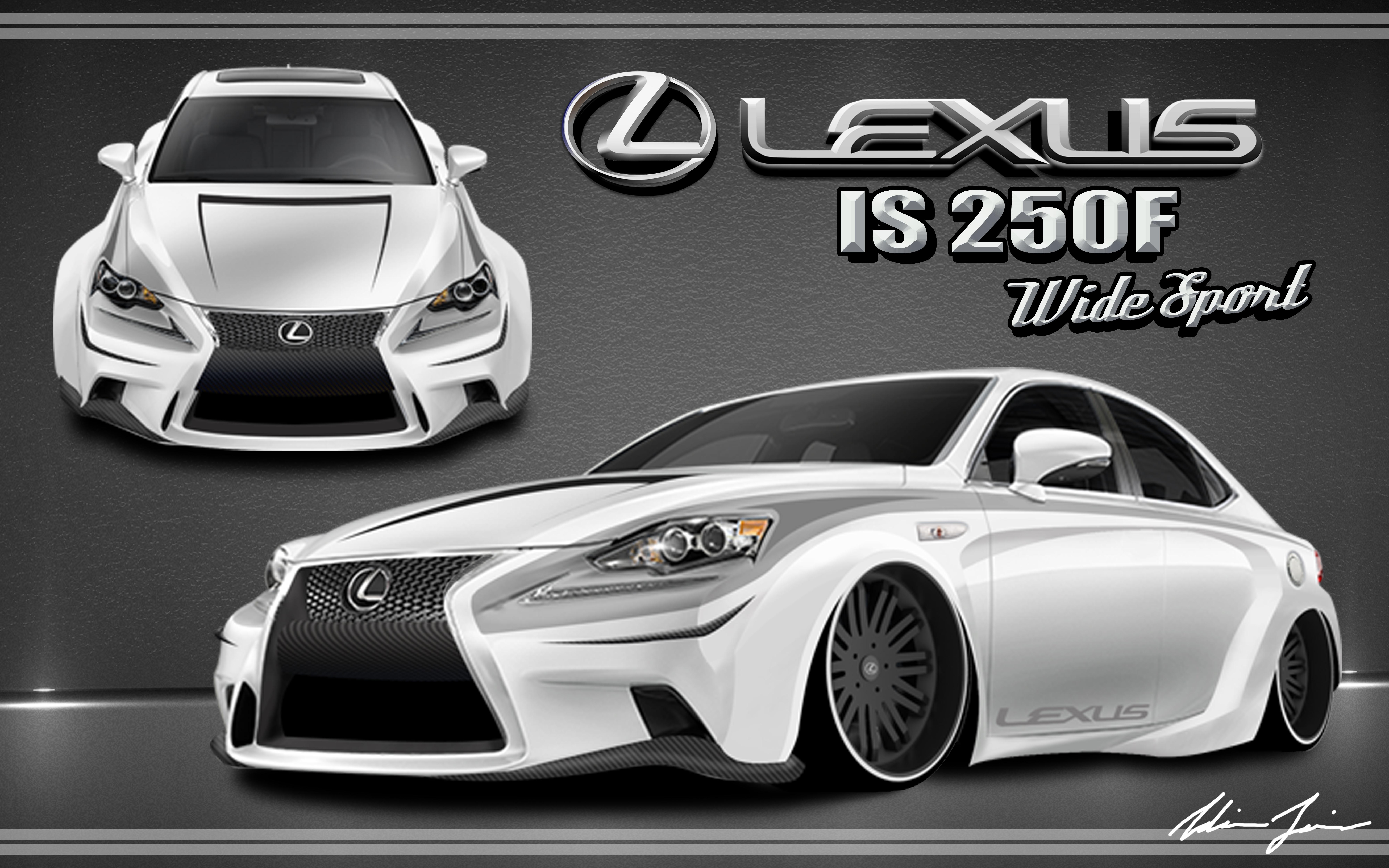 2013 Lexus IS 250F Wide Sport by Swift-Money
