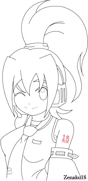 Zen Line Drawing : Zen vocaloid line art by za on deviantart