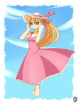 Ciel pink dress