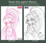 Meme- Draw this again Ciel