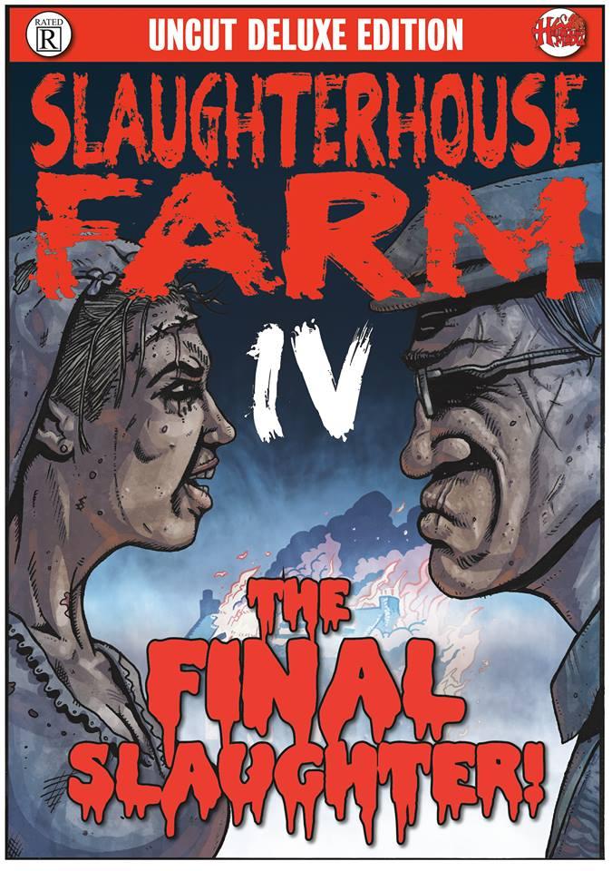 Slaughterhouse Farm #4 Cover by ArfonArt
