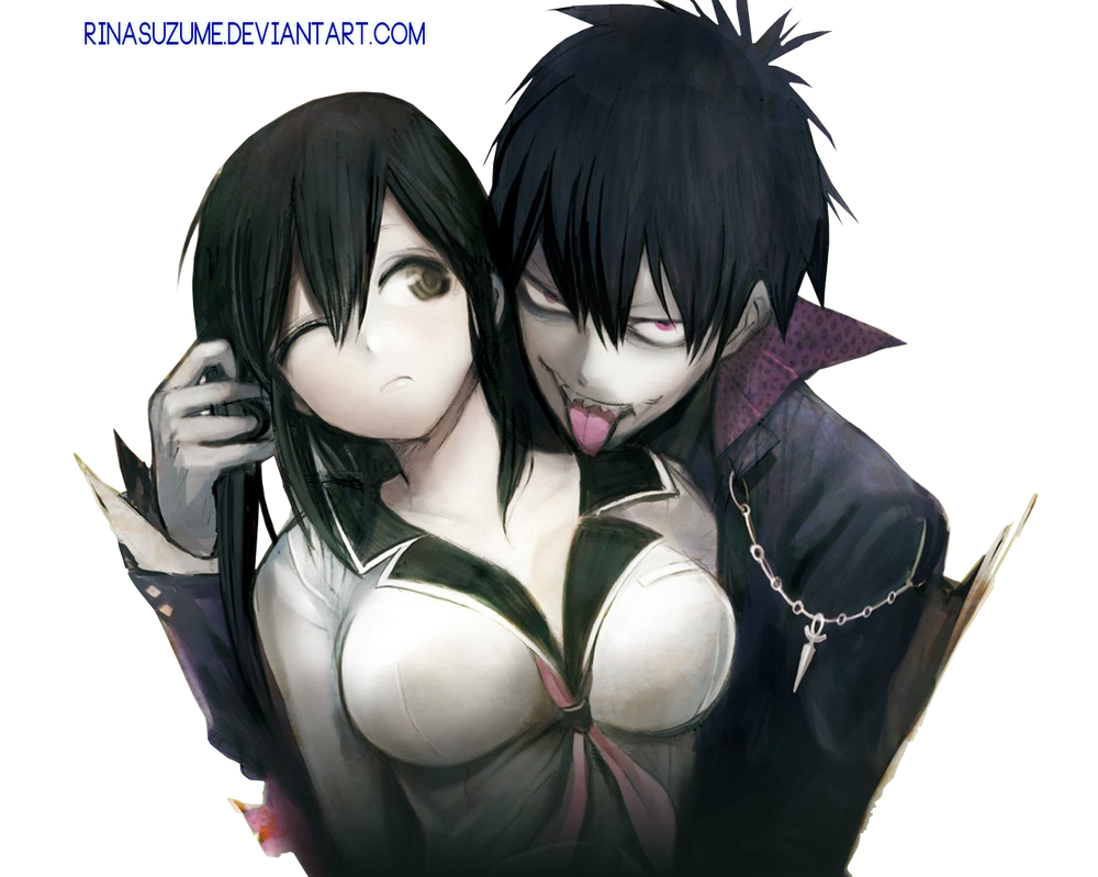 Staz and Fuyumi Blood Lad Render by RinaSuzume