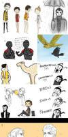Deus Ex doodle dump