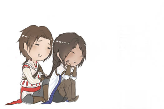 Ezio and Connor