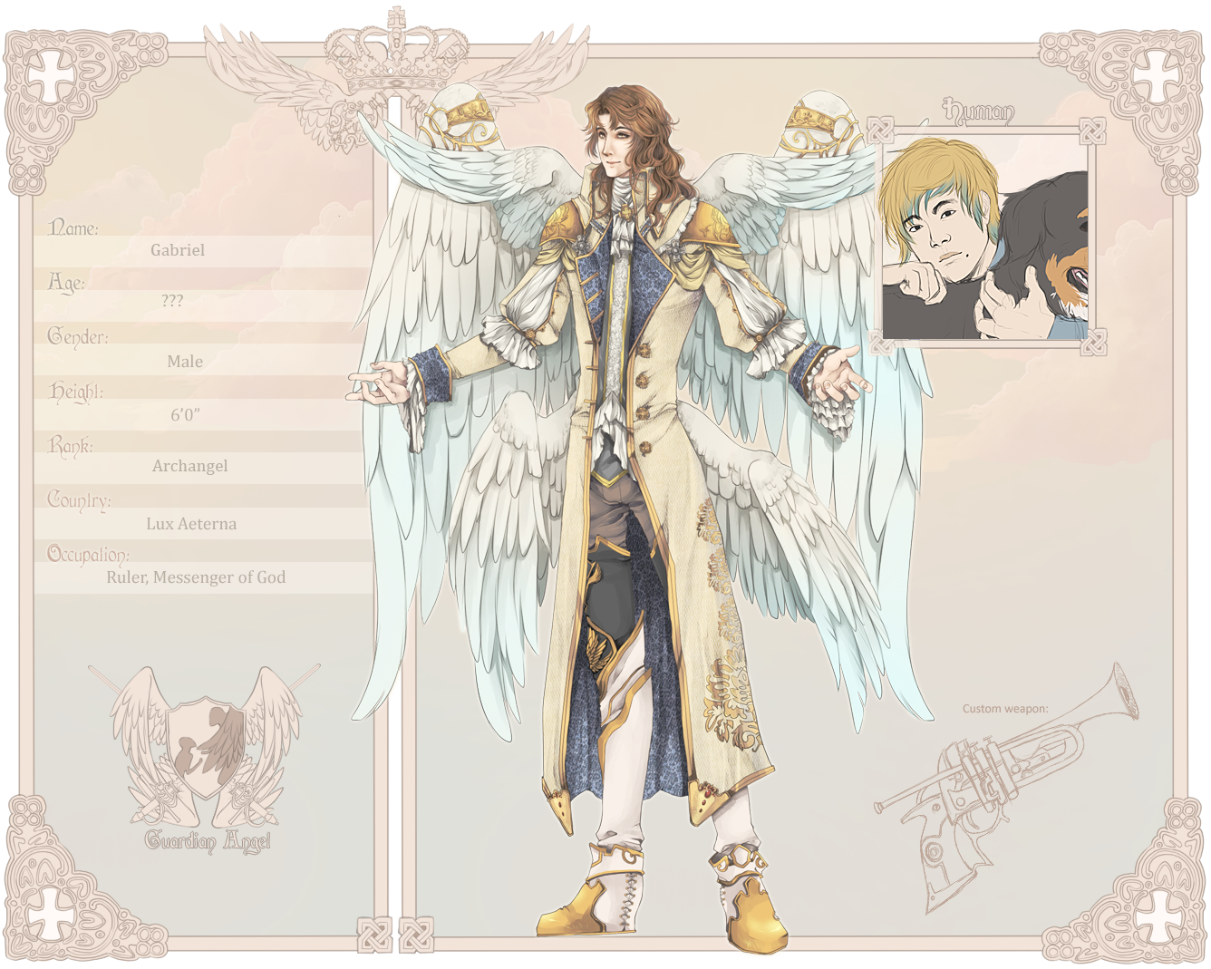 Seraphim: Gabriel by Lanaluu