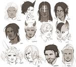 Headshot Doodles 01