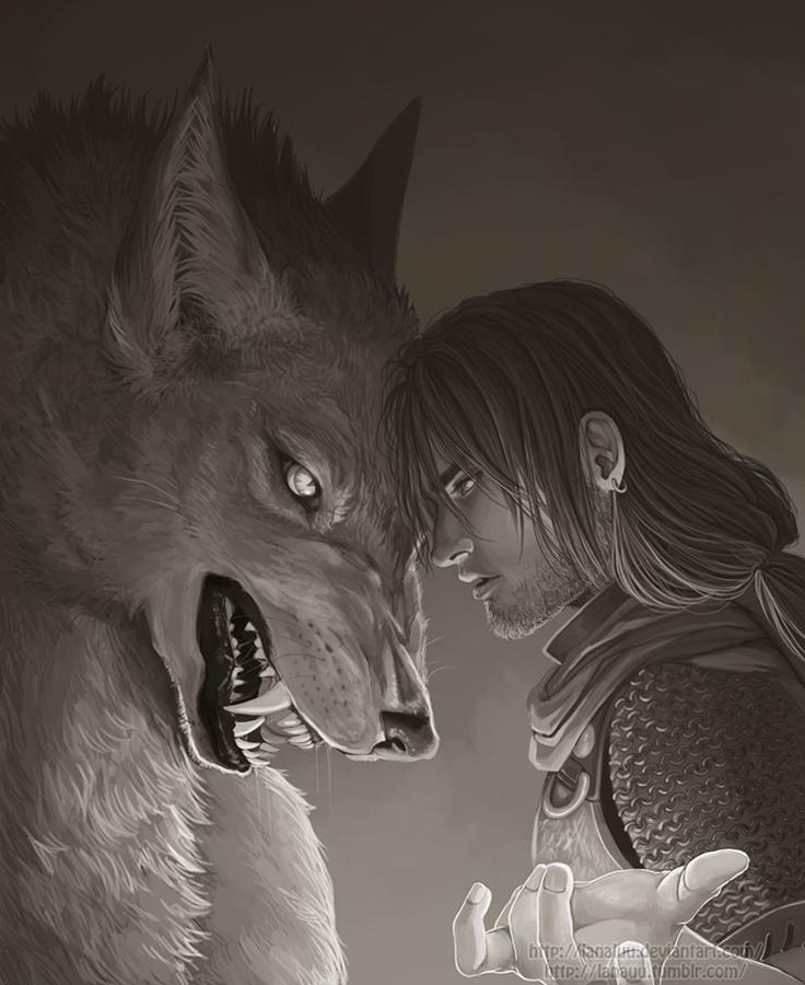dark shadow wolf
