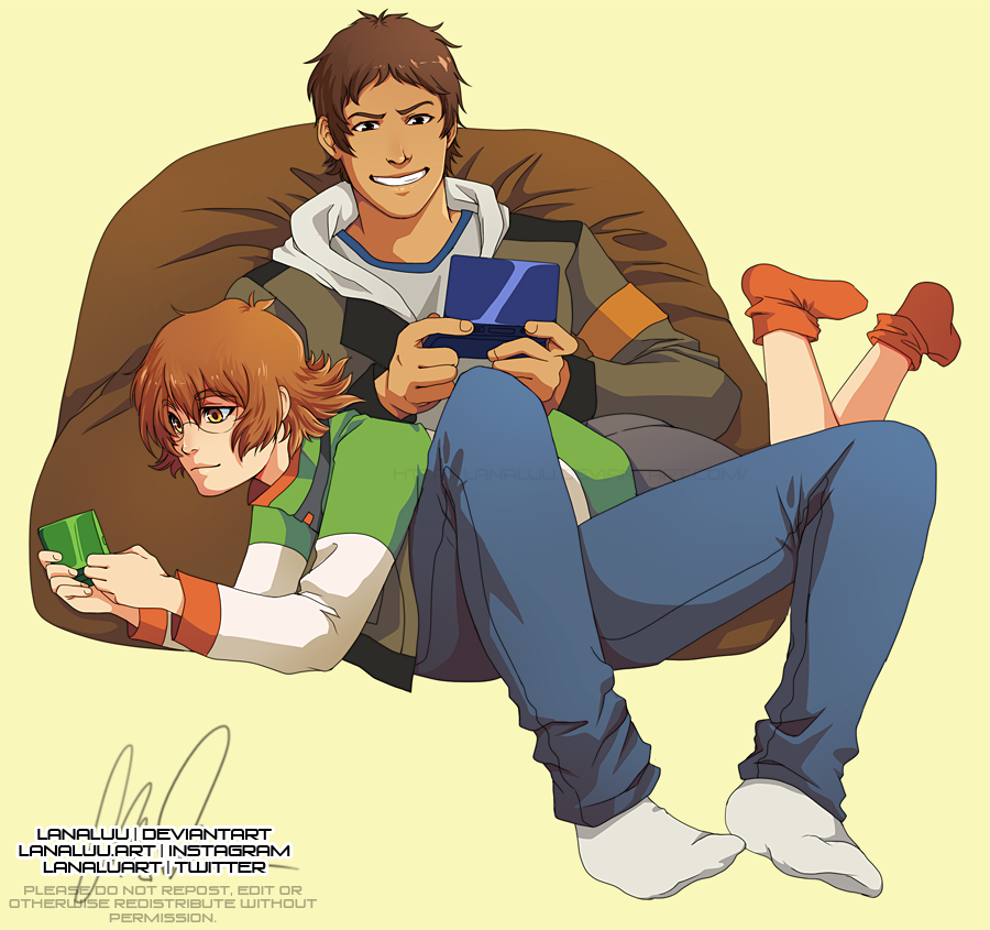 Voltron: Gamers by Lanaluu