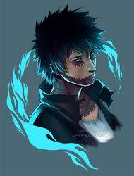 My Hero Academia - Dabi by Lanaluu