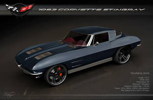 1963 Corvette Stingray by Novastar2486