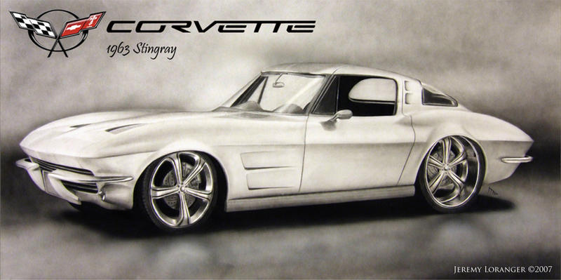 1963 Corvette Stingray By Novastar2486 On Deviantart