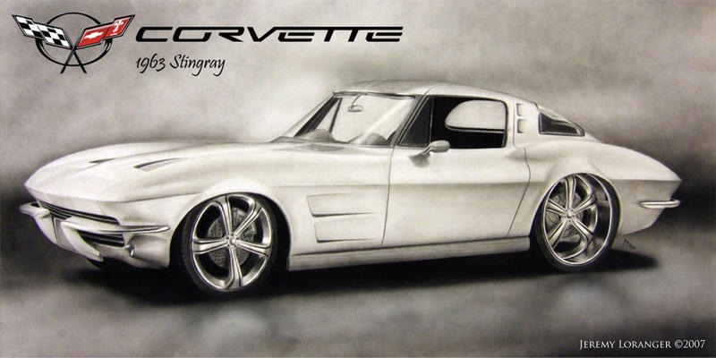 1963 Corvette Stingray by Novastar2486 on DeviantArt