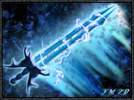Phazon Blade by FlamingMetroidzd