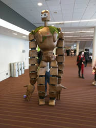 Laputa Robot puppet/cosplay