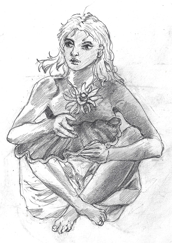 Girl (dirty) by vulcain0