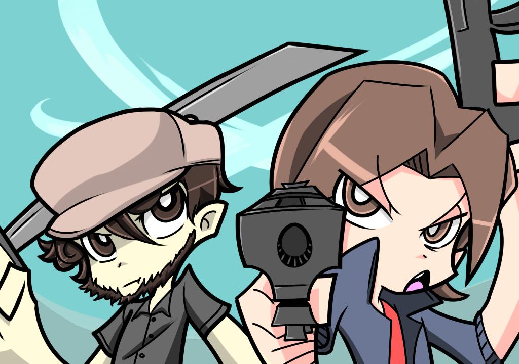 Egoraptor and JonTon v2 (PSG Parody) by dimensionalotaku