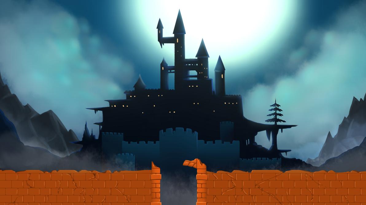 Castlevania Draculas Castle By Dimensionalotaku