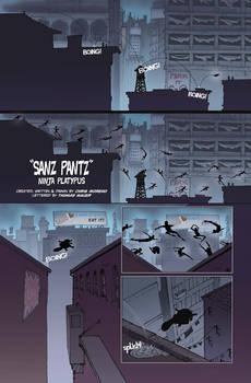 Sanz Pantz, page 1