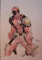 Deadpool by ChrisMoreno