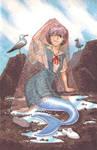 Rei Ayanami Mermaid
