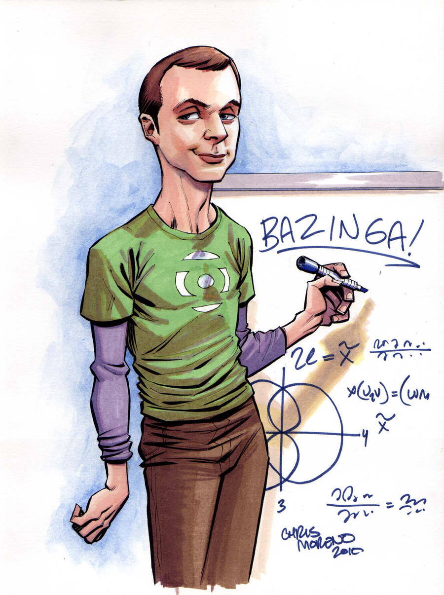Big Bang Theory Sheldon by ChrisMoreno