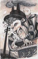 Tom Waits by ChrisMoreno