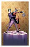 Joker Harley cake topper 2011
