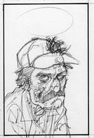 Zombie Selleck by ChrisMoreno