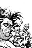 Zombie Dickheads cover WIP by ChrisMoreno