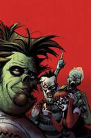 Zombie Dickheads cover final by ChrisMoreno
