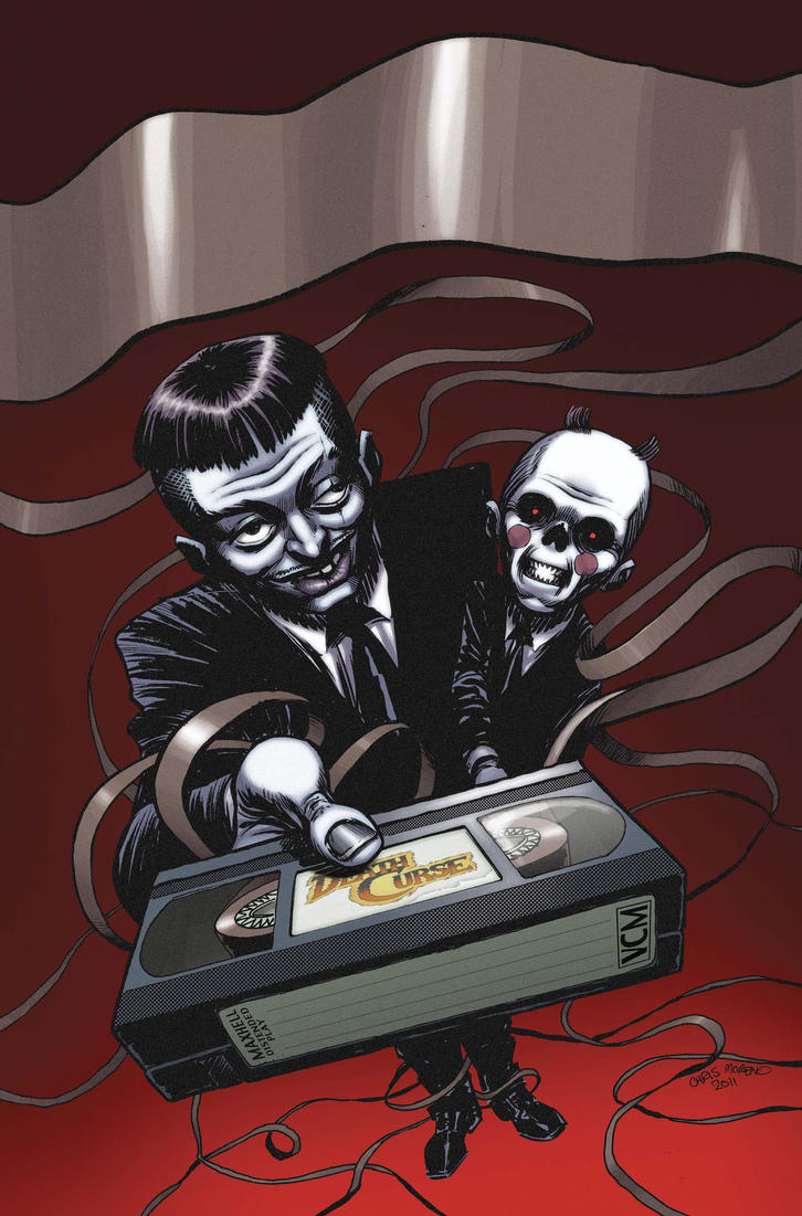 Death Curse cover color by ChrisMoreno