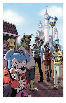 Zombie Dickheads Wondercon Print final