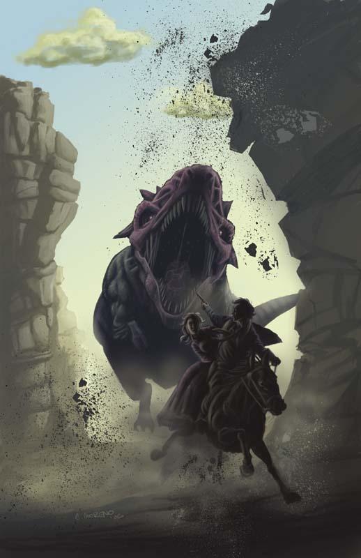 Tyrannosaurus West-- The Chase
