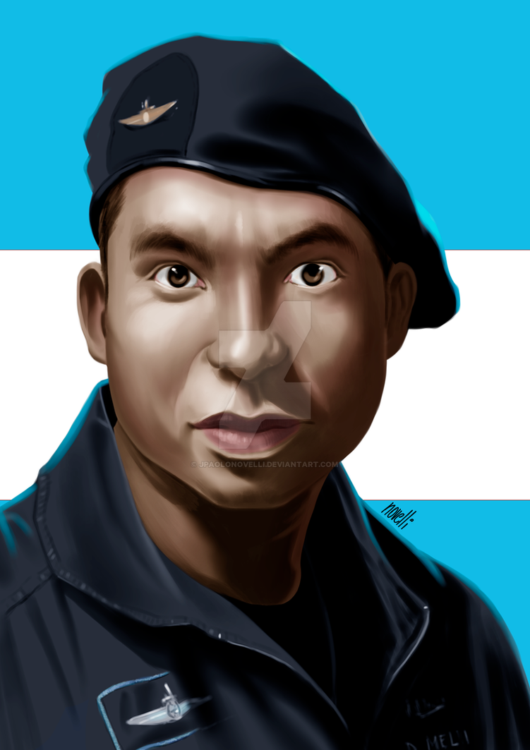 Portrait of David Melian by jpaolonovelli