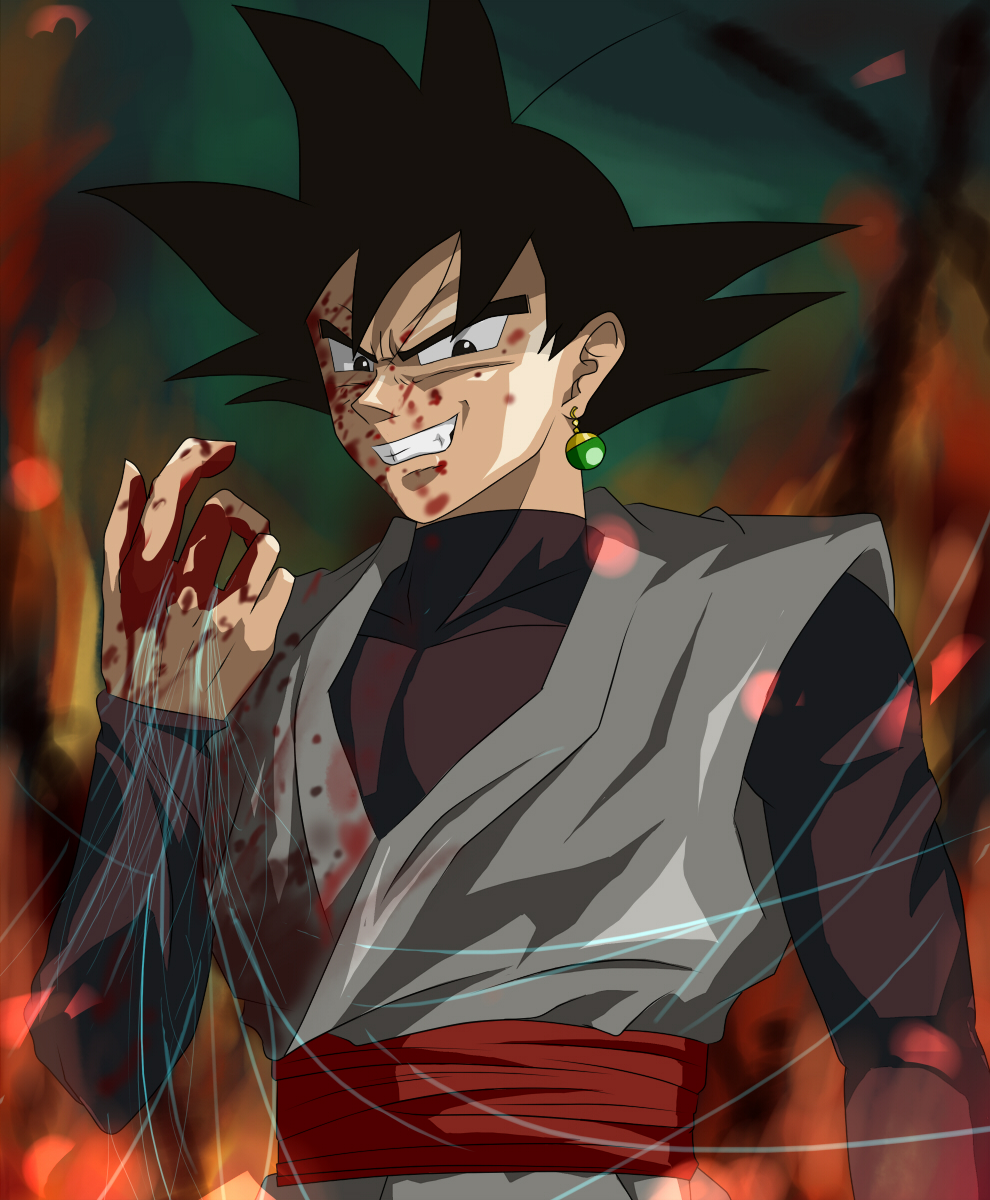 Sanctions To Earth By Goku Black By DDDJJJKKKLLL On DeviantArt