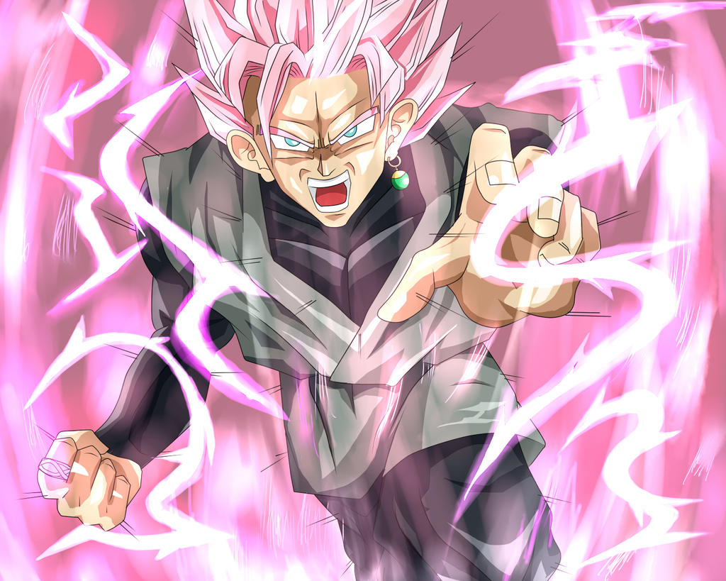 Super Saiyan Rose Goku Black Wallpaper: Super Saiyan Roze Goku Black By DDDJJJKKKLLL On DeviantArt