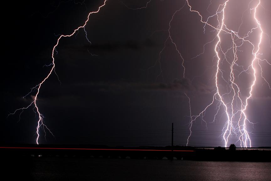 A1A lightning by maisondezion