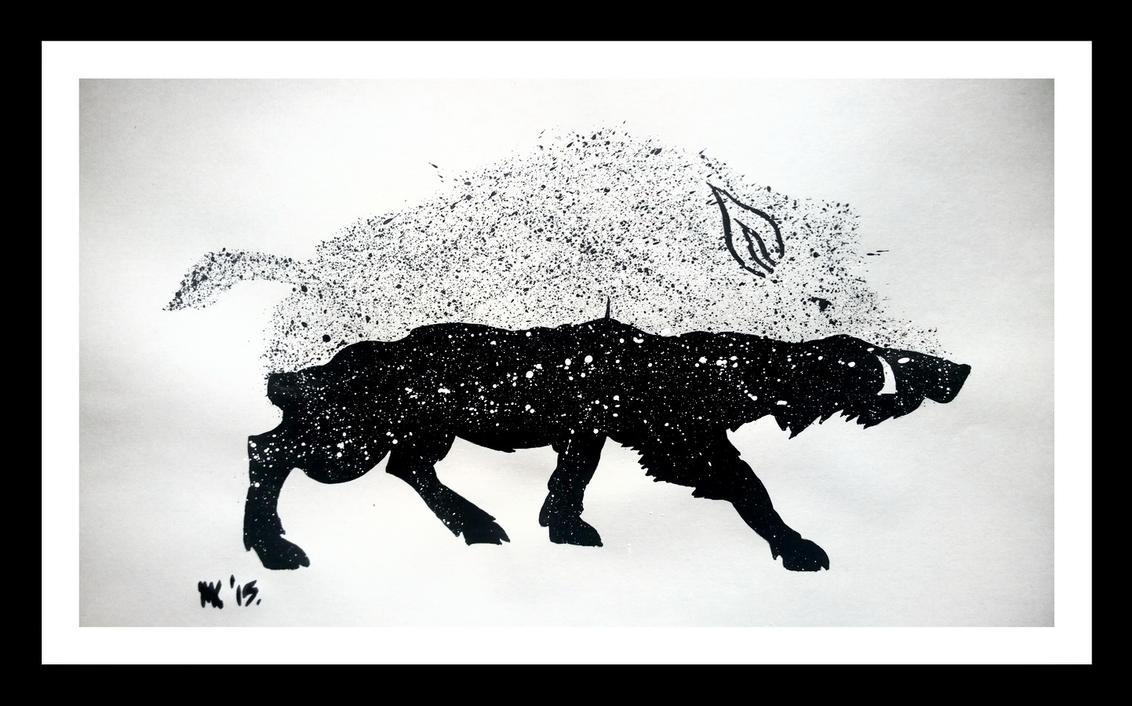 Divlja svinja - Sljeme by demony