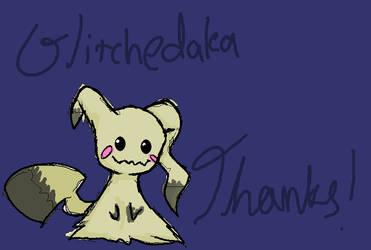 For Glitchedaka by redsprite14