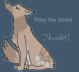 For RileytheBeast by redsprite14