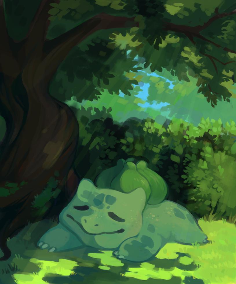 nap by RandomSeagull