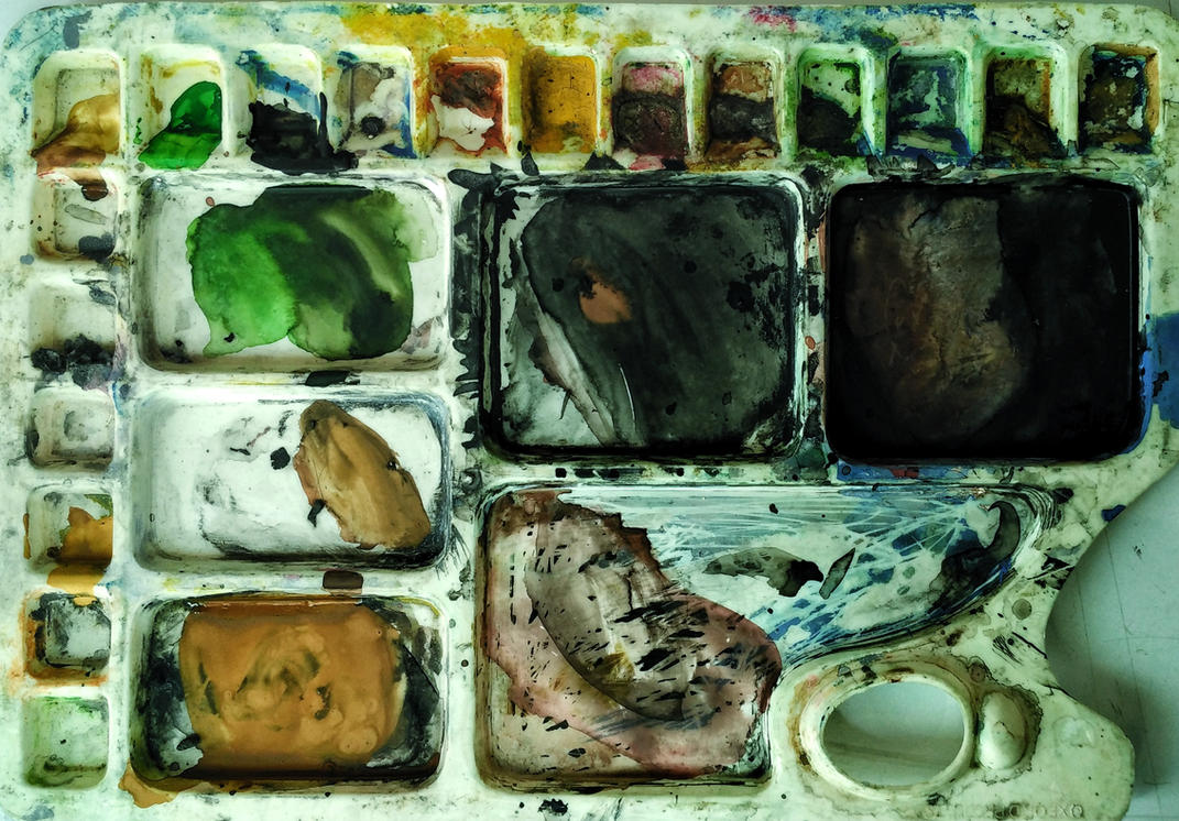 colour palette by zaharaesha